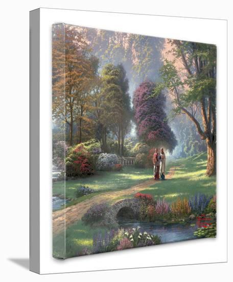 Walk of Faith-Thomas Kinkade-Gallery Wrapped Canvas