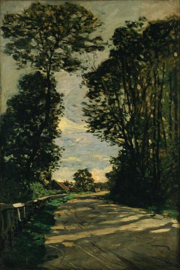 Walk (Road of the Farm Saint-Siméo), 1864-Claude Monet-Giclee Print