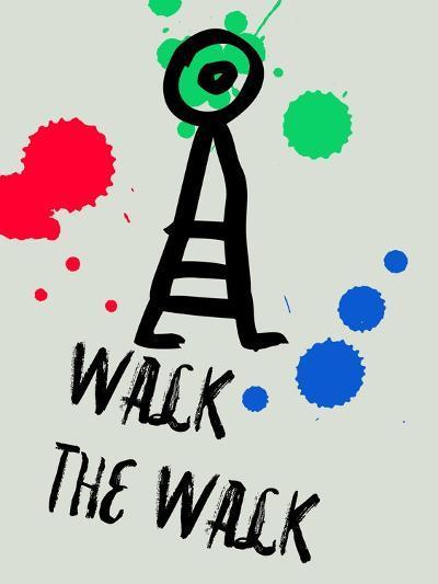 Walk the Walk 1-Lina Lu-Art Print