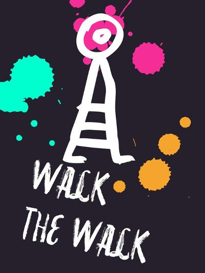 Walk the Walk 2-Lina Lu-Art Print