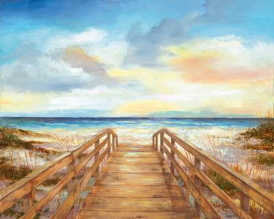 Walk to the Beach--Art Print