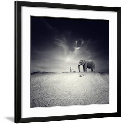 Walk with Me-Luis Beltran-Framed Photographic Print
