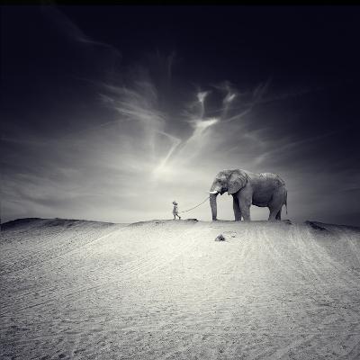 Walk with Me-Luis Beltran-Photographic Print