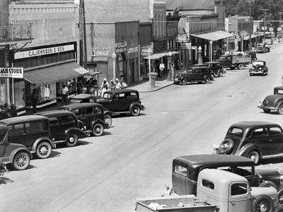 Alabama: Town, c1935