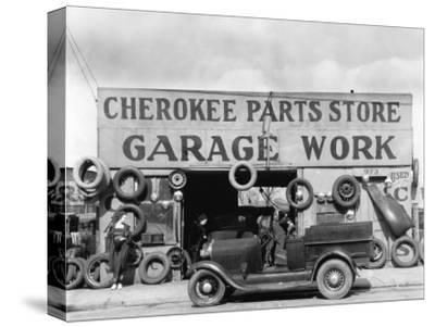 Auto Parts Shop, Atlanta, Georgia, c.1936