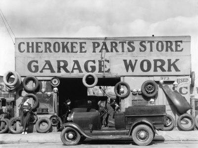 Auto Parts Shop, Atlanta, Georgia, c.1936