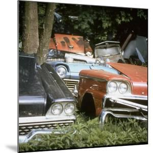 Automobile Junkyard by Walker Evans