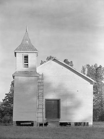 Church in the Southeastern U.S., c.1936