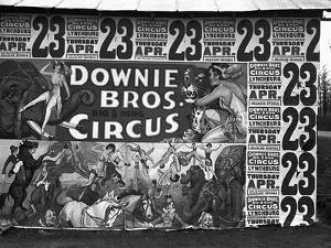 Circus Advertisement, 1936 by Walker Evans