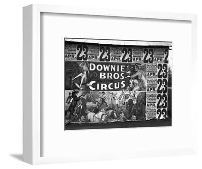 Circus Advertisement, 1936