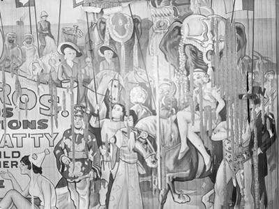 Circus poster, Alabama, 1935