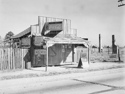 Coca-Cola shack in Alabama, 1935