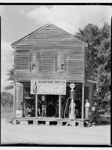 Crossroads General Store in Sprott, Alabama, 1935-36 by Walker Evans