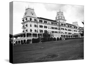 Exterior of Wentworth by the Sea Hotel by Walker Evans