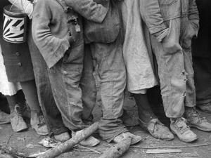 Flood Refugees, 1937 by Walker Evans
