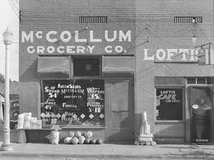Grocery store in Greensboro, Alabama, c.1936 by Walker Evans