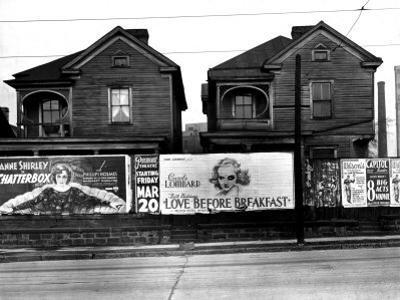 Houses, Atlanta, Georgia, 1936 by Walker Evans