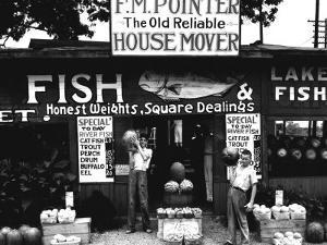 Roadside Stand near Birmingham, Alabama by Walker Evans