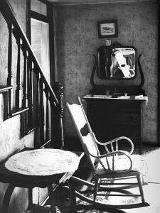 Rocking Chair in House by Walker Evans
