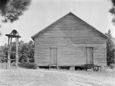 Schoolhouse in Alabama, c.1936