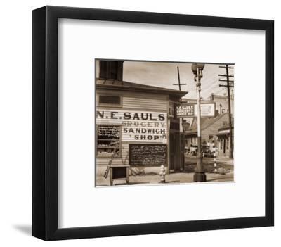 Street Scene, New Orleans, Louisiana, 1935