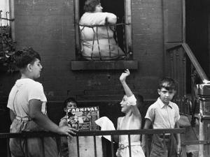 Streetside Games, 1938 by Walker Evans