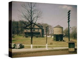 Trainscapes 1950: View from a Train Window by Walker Evans