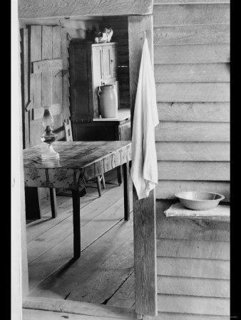Washstand in the Dog Run and Kitchen