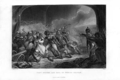 Last Effort and Fall of Tippoo Sultan', Mid-19th Century