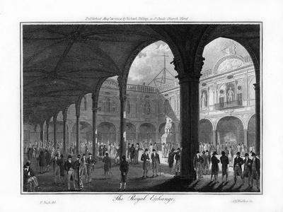The Royal Exchange, London, 1804