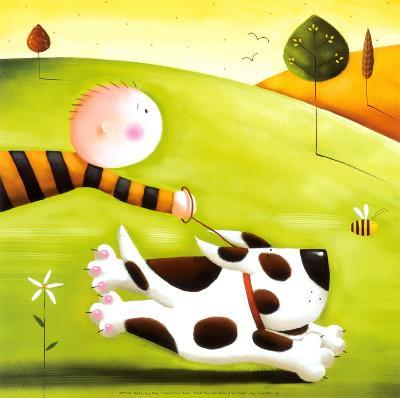 Walkies-Jo Parry-Art Print