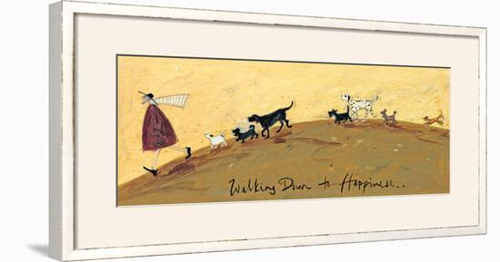 Walking Down To Happiness-Sam Toft-Framed Giclee Print