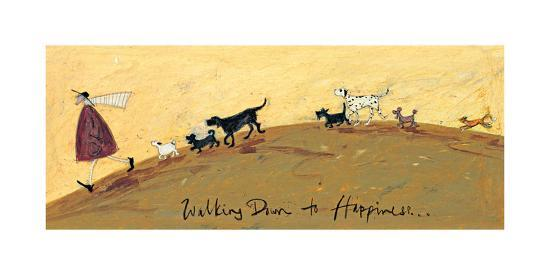 Walking Down To Happiness-Sam Toft-Giclee Print