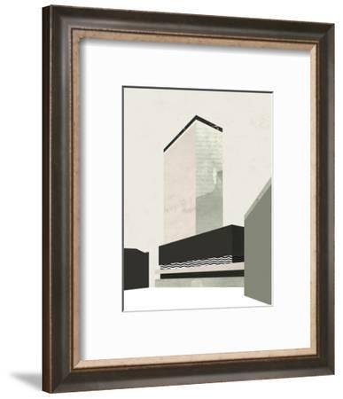 Walking Home-Michelle Collins-Framed Art Print