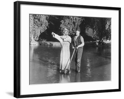 Walking on Water--Framed Photo