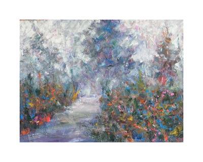 Walking Path II-Joseph Marshal Foster-Giclee Print