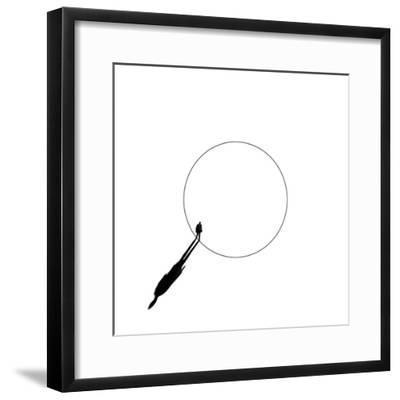 Walking the Circle!-Huib Limberg-Framed Photographic Print