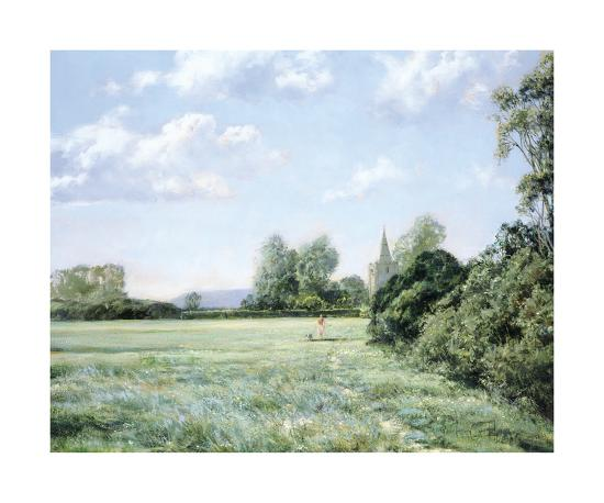 Walking the Dog-Montague Dawson-Premium Giclee Print