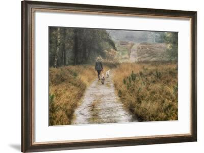 Walking the Dogs-Cora Niele-Framed Photographic Print