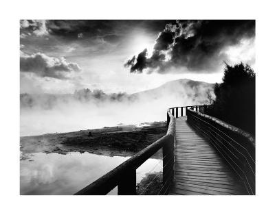 Walkway over the Lake--Art Print