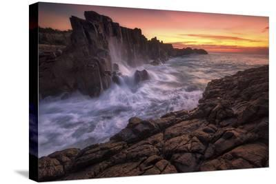 Wall By The Sea-Joshua Zhang-Stretched Canvas Print