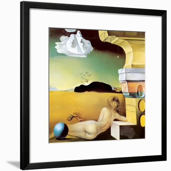 Wall Decoration for Helena Rubinstein, c.1942-Salvador Dal?-Framed Art Print