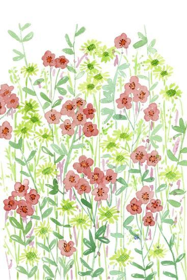 Wall Flowers II-Melissa Wang-Art Print