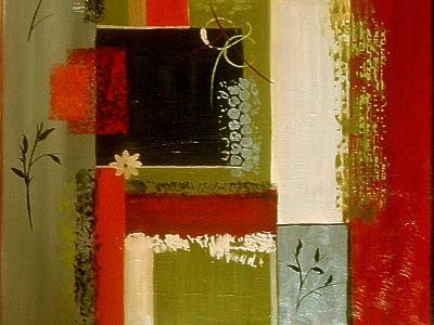 Wall Flowers II-Ruth Palmer Digital-Art Print