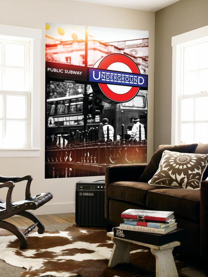 Wall Mural The London Underground Sign Public Subway Uk