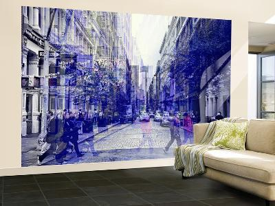 Wall Mural - Urban Vibration Series - Soho and 1WTC - Manhattan - New York - USA-Philippe Hugonnard-Wall Mural – Large