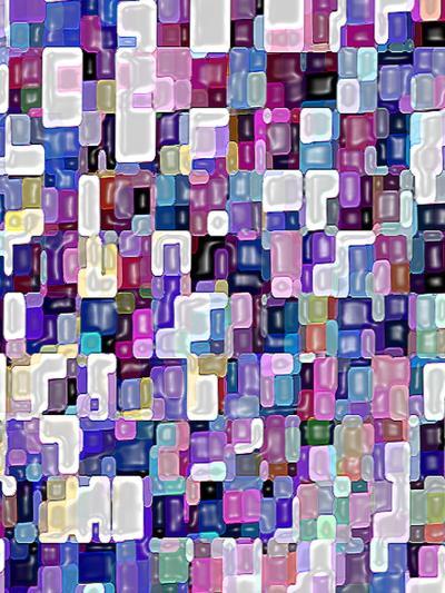 Wall Of Color-Ruth Palmer-Art Print