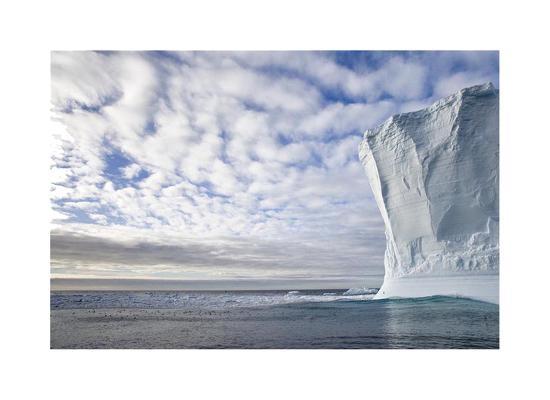 Wall of Ice-Donald Paulson-Giclee Print