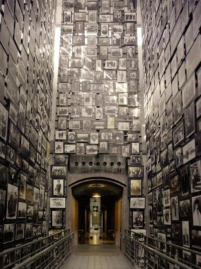 Wall of Remembrance at the U.S. National Holocaust Memorial Museum--Photo