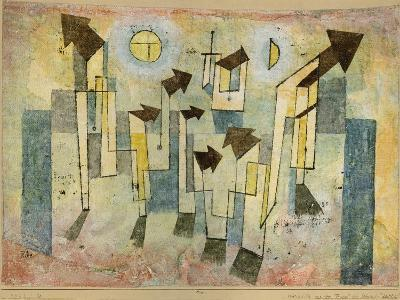 Wall Painting from the Temple of Longing Thither, 1922-Paul Klee-Giclee Print
